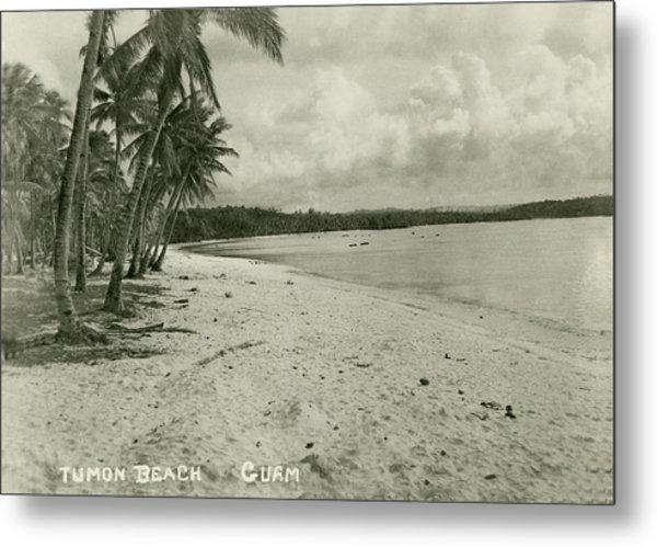 Tumon Beach Guam Metal Print
