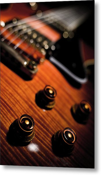 Tune Into Focus Metal Print