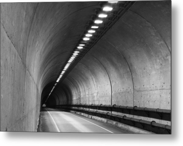 Tunnel Metal Print by Eric Foltz