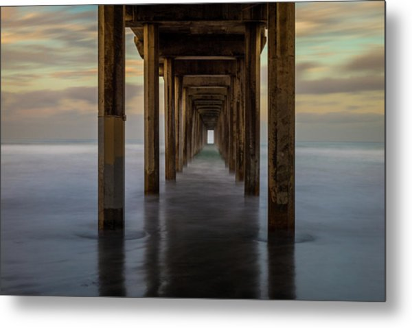 Tunnelscape Metal Print