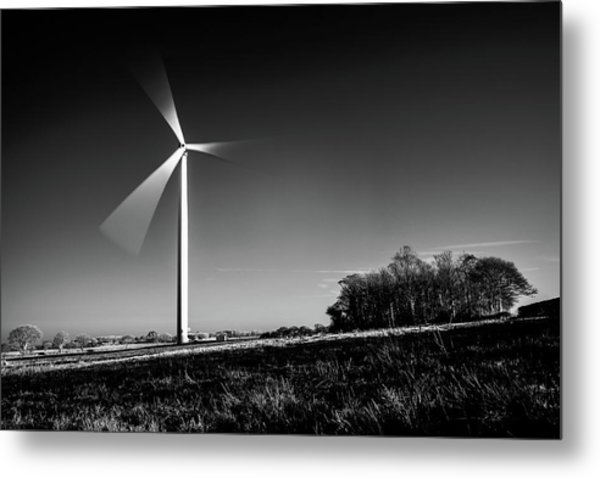 Metal Print featuring the photograph Turbine by Will Gudgeon