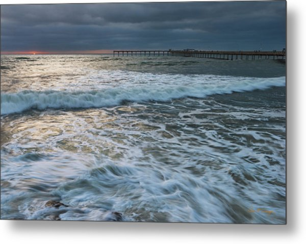Metal Print featuring the photograph Turbulence by Dan McGeorge