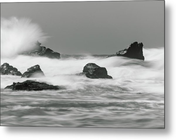 Turbulent Thoughts Metal Print