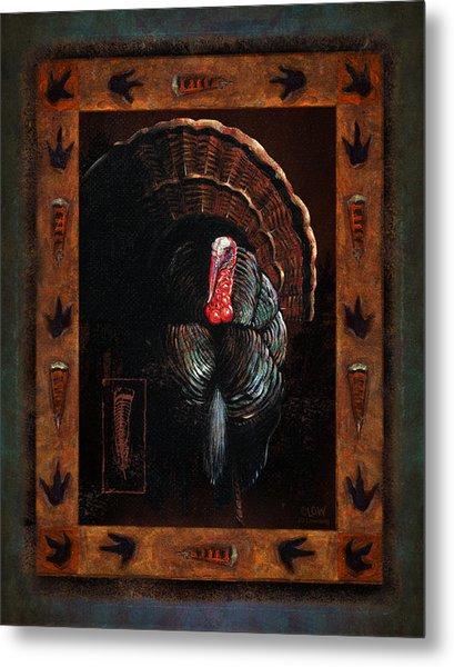 Turkey Lodge Metal Print