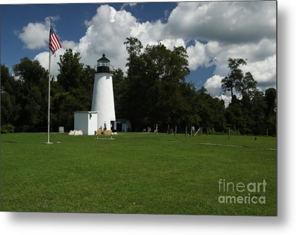 Turkey Point Lighthouse Metal Print