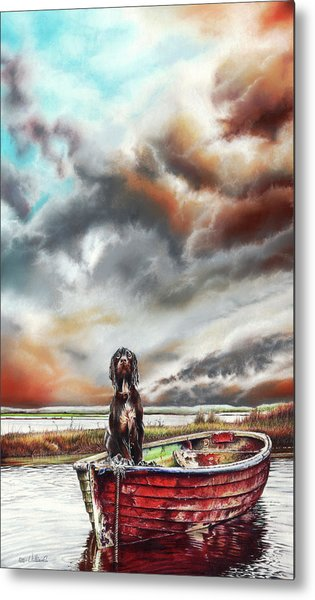 Turner's Dog Metal Print