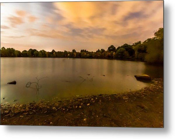 Turners Pond After Dark Metal Print
