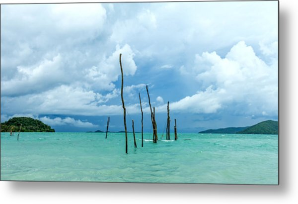 Turquoise Dream Metal Print