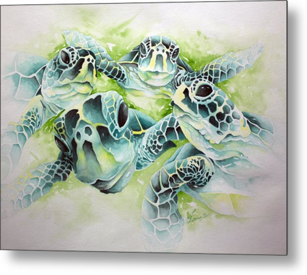 Turtle Soup Metal Print