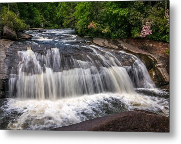 Turtleback Falls Metal Print