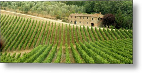 Tuscan Symmetry Metal Print