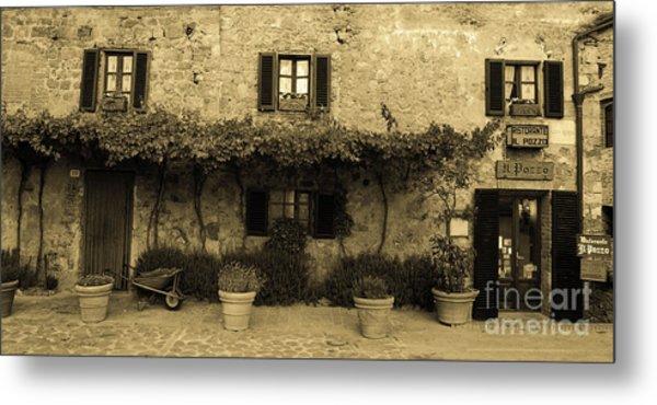 Tuscan Village Metal Print