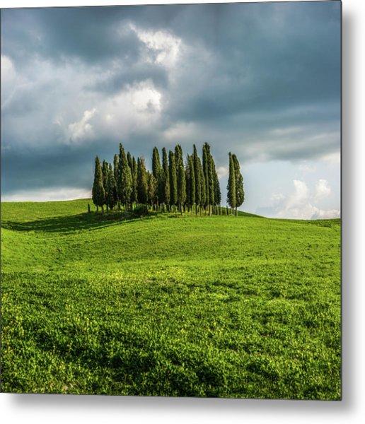 Tuscan Wonderland - Val D Orcia Metal Print