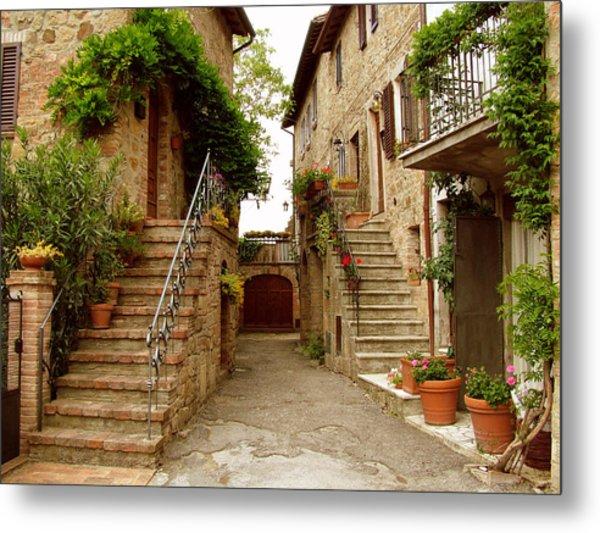 Tuscany Stairways Metal Print
