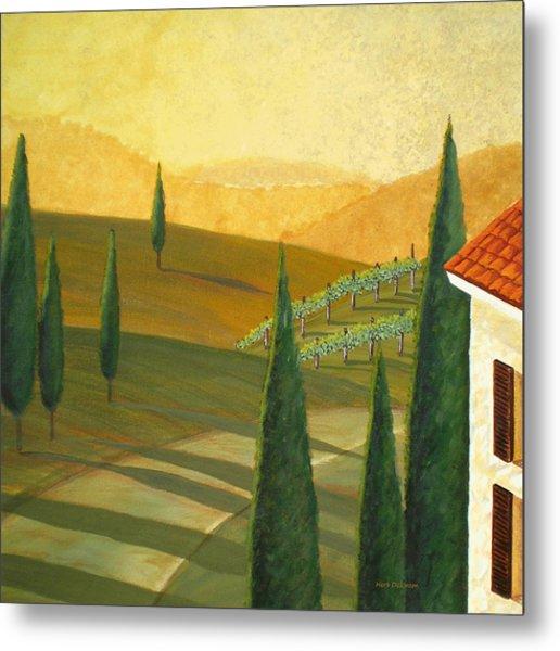 Tuscany Vinicola I Metal Print by Herb Dickinson