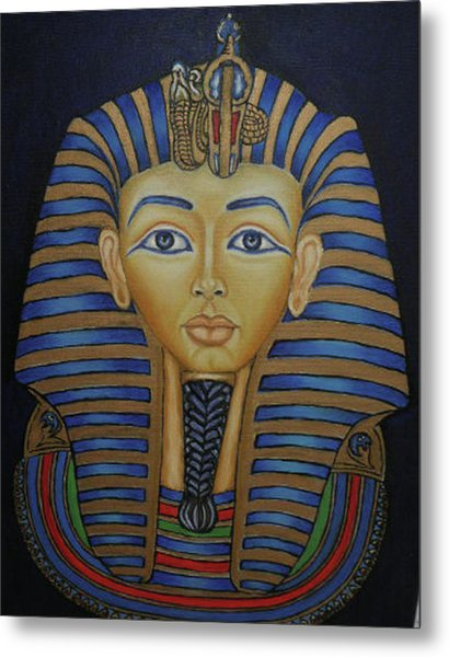 Tutankhamun Metal Print by Margit Armbrust