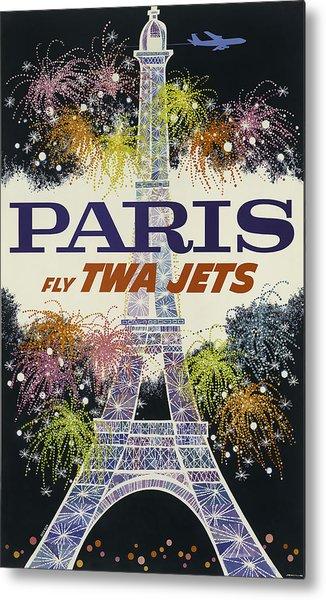 Twa Paris Metal Print