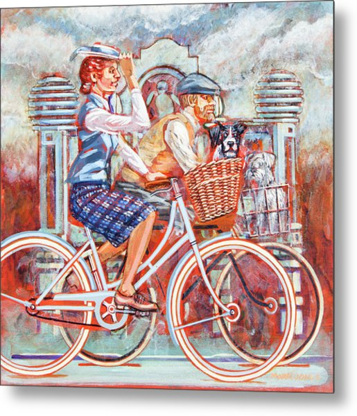 Tweed Runners On Pashleys Metal Print