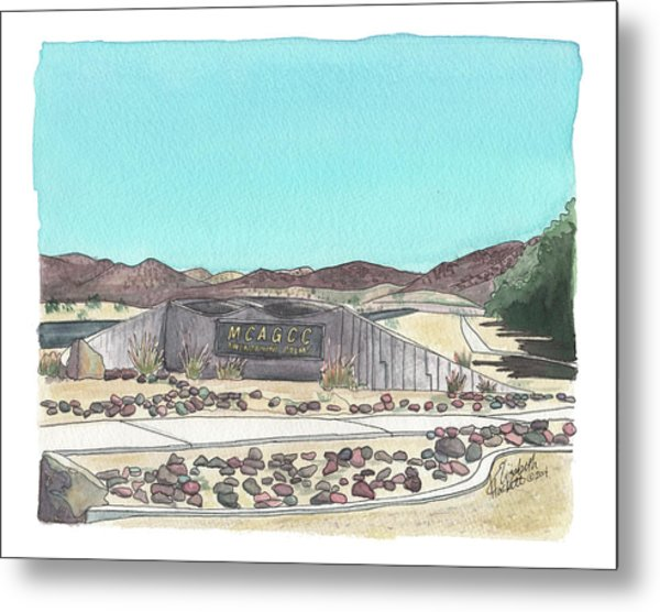 Twentynine Palms Welcome Metal Print