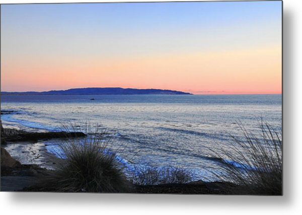 Twilight At Shell Beach Metal Print by Lorrie Morrison