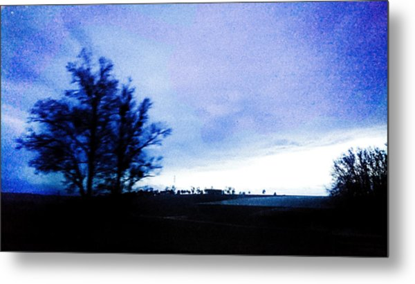 Metal Print featuring the photograph Twilight  by Bee-Bee Deigner