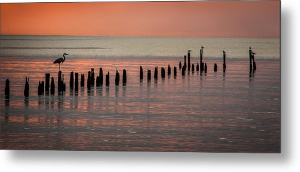 Twilight Colors Metal Print