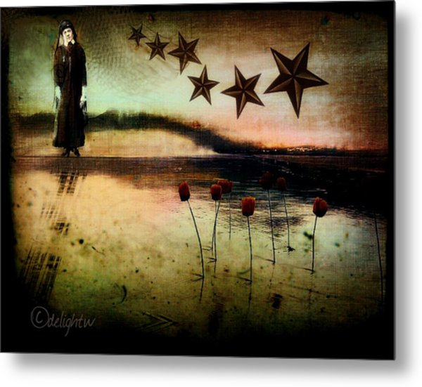 Metal Print featuring the digital art Twilight by Delight Worthyn