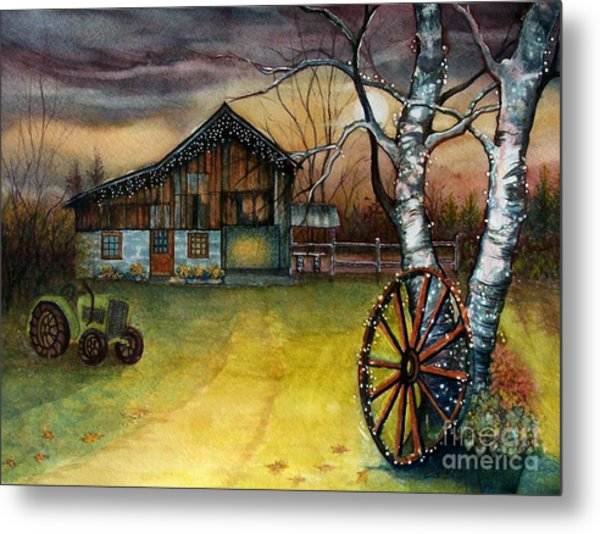 Twilight Hour Metal Print