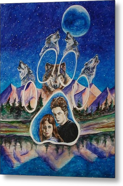 Twilight Imprinting Metal Print by Andrea  Darlington
