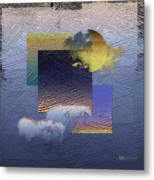 Twilight Interrupted By Ocean Breeze Metal Print