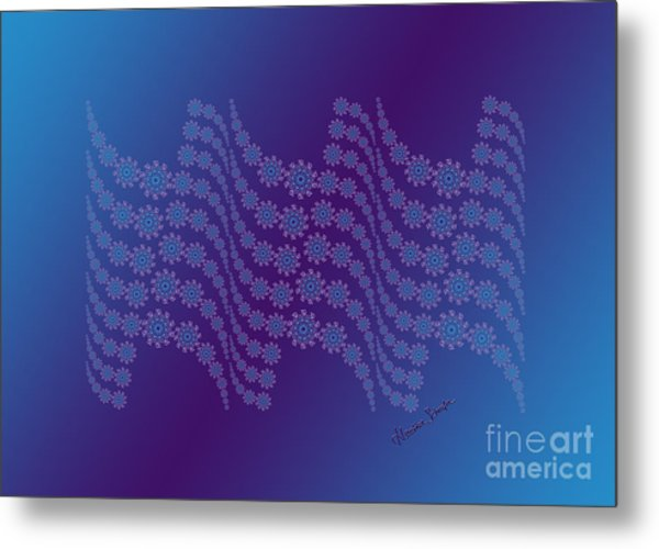 Twilight Ocean Metal Print