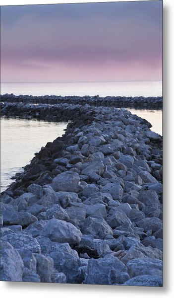 Twilight Of The Day Metal Print