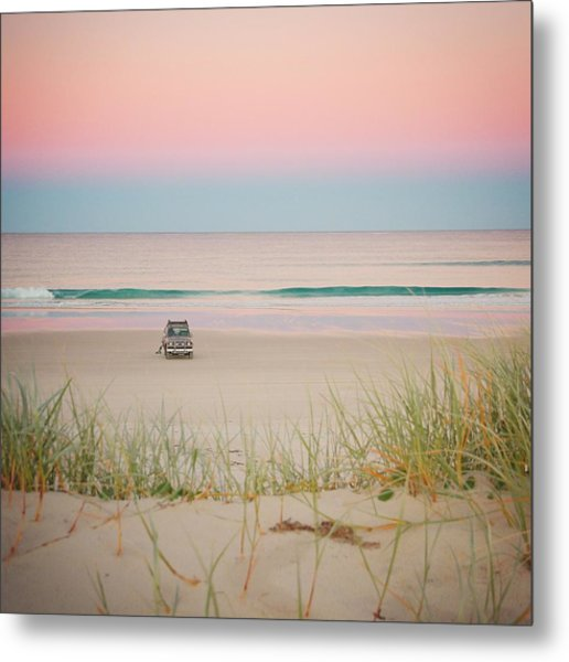 Twilight On The Beach Metal Print