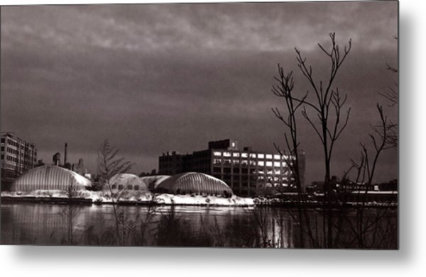 Twilight On The Other Side Metal Print by Andrea Simon