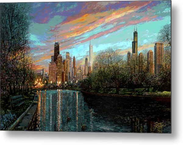 Twilight Serenity II Metal Print
