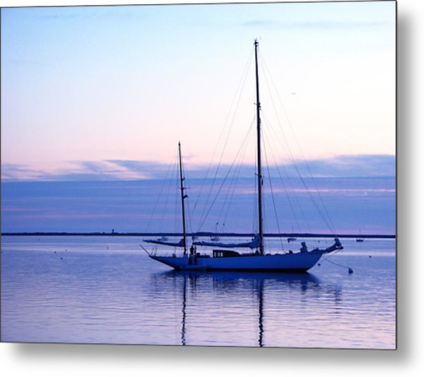 Twilight Voyage Metal Print