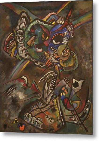 Twilight Metal Print by Wassily Kandinsky