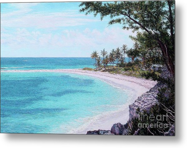 Twin Cove Paradise Metal Print