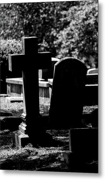 Twin Graves Metal Print