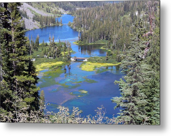 Twin Lakes Eastern Sierra Photography Metal Print