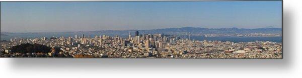 Twin Peaks City View Metal Print by Paul Owen