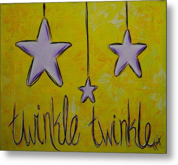 Twinkle Twinkle Metal Print