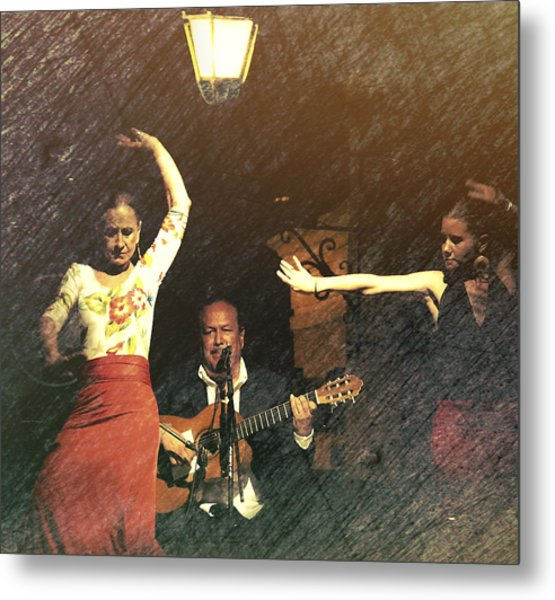Two For Flamenco Metal Print