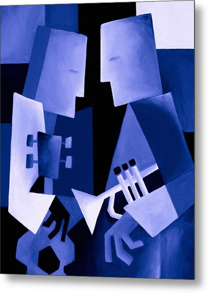 Two For The Blues Metal Print