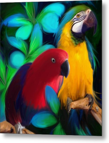 Two Friends  Metal Print