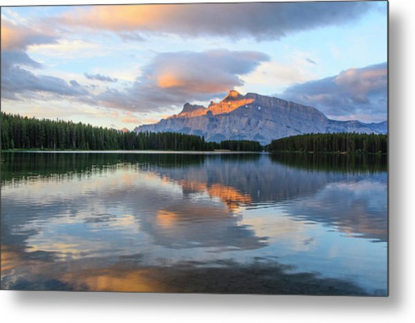 Two Jack Lake, Banff National Park Metal Print