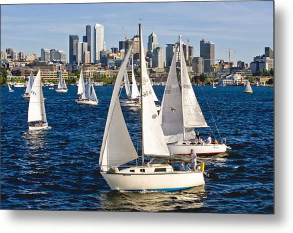 Two Pass By Metal Print by Tom Dowd