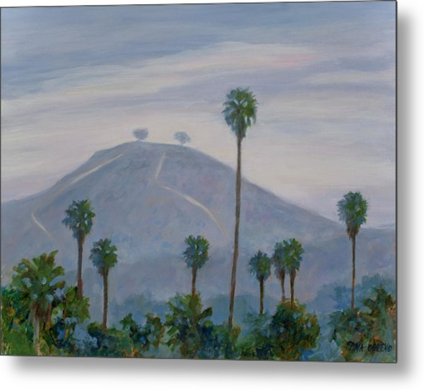 Two Trees At Seaward And Pierpont Metal Print by Tina Obrien