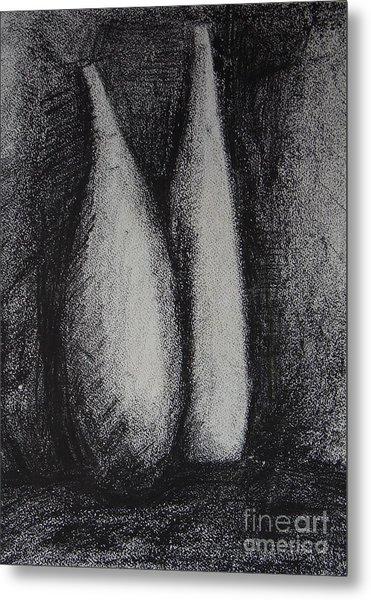 Two Vessels Metal Print by Leila Atkinson