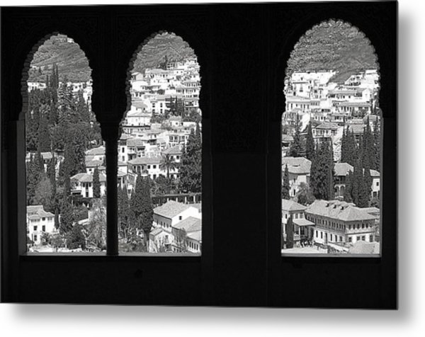 Two Worlds Metal Print by Jez C Self